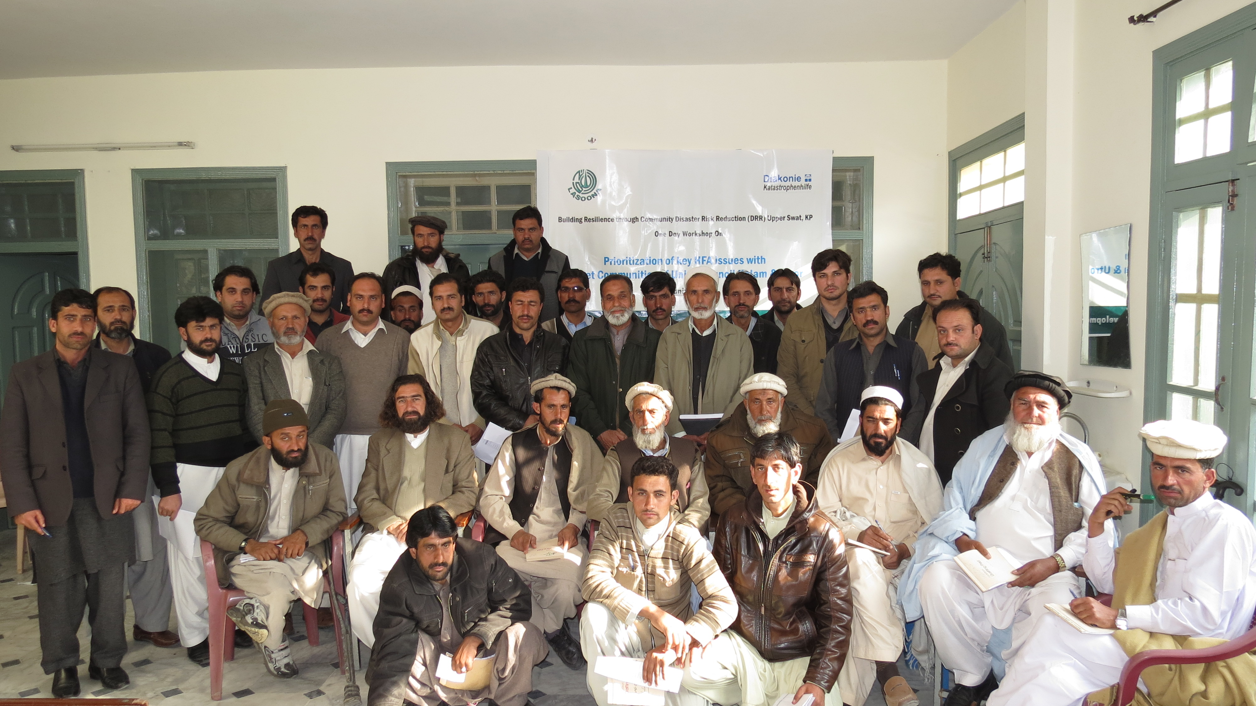 one day orientation workshop for Disaster Management Committees Office bearer's and activist on Hyogo Framework for Action 2005-2015